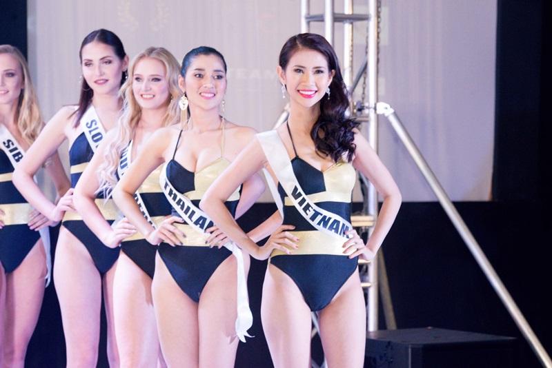 Á khôi Du lịch Việt Nam 2017 Liên Phương là đại diện của Việt Nam tại cuộc thi năm nay.