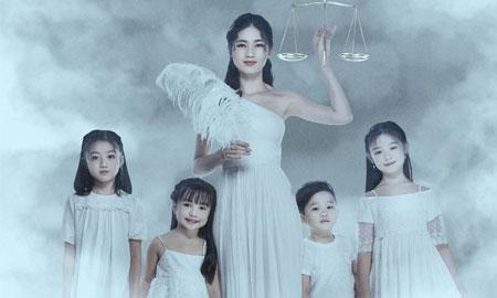 Á hậu Thanh Tú hóa nữ thần công lý chống xâm hại trẻ em