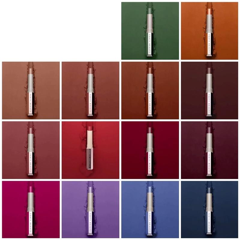 Toàn bộ 14 màu sắc của bộ sưu tập