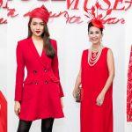 Mỹ nhân Việt tỏa sắc với mũ cầu kỳ trên thảm đỏ show diễn The Muse 2 của NTK Đỗ Mạnh Cường