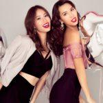 Phong cách nóng bỏng của siêu mẫu Hà Anh và Á hậu Yến Nhi mùa lễ hội