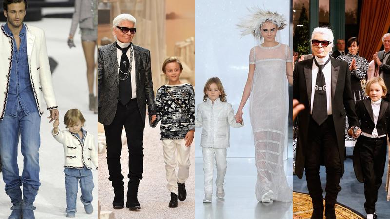 Không phải Cara Delevigne hay Kendall Jenner, cậu bé này mới là người mẫu được yêu mến nhất của Karl Lagerfeld