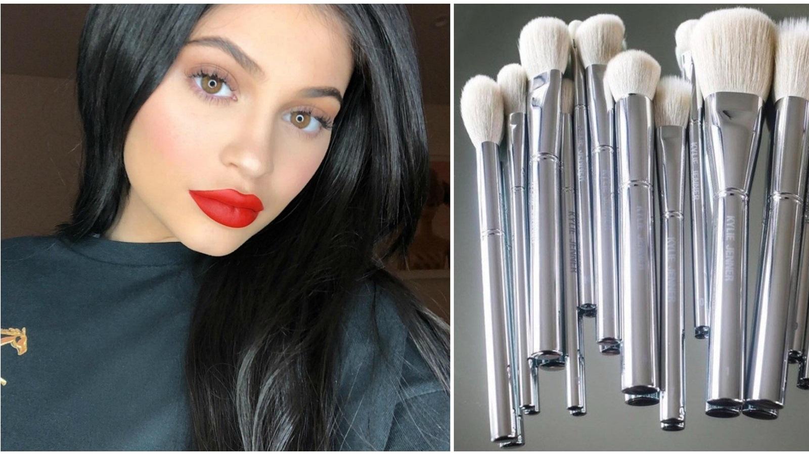 Kylie Jenner ra mắt dòng sản phẩm trang điểm Silver Series