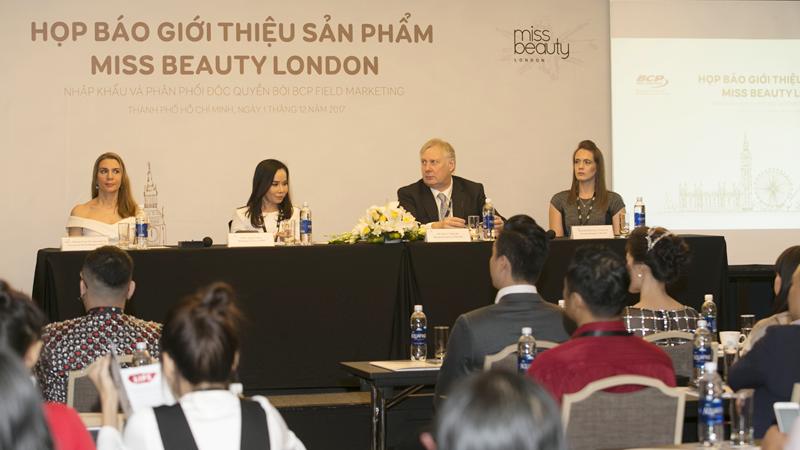 Mỹ phẩm Miss Beauty London: Thỏa niềm đam mê phấn son
