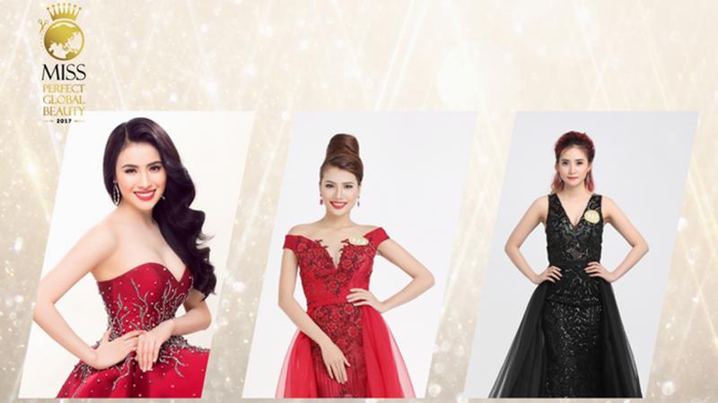Cận cảnh nhan sắc 30 người đẹp vào vòng Chung kết Miss Perfect Global Beauty 2017