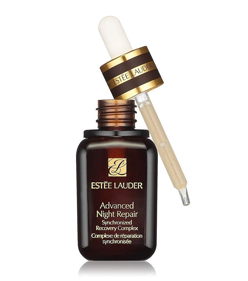 Estée Lauder Advanced Night Repair: Giúp chống lão hóa da hiệu quả, phục hồi da vào ban đêm. Giá: 2.300.000VNĐ.