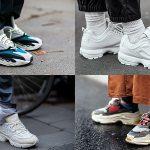 """Sneakers """"ông già"""": Xu hướng kỳ lạ nhưng khó cưỡng trong năm 2018"""