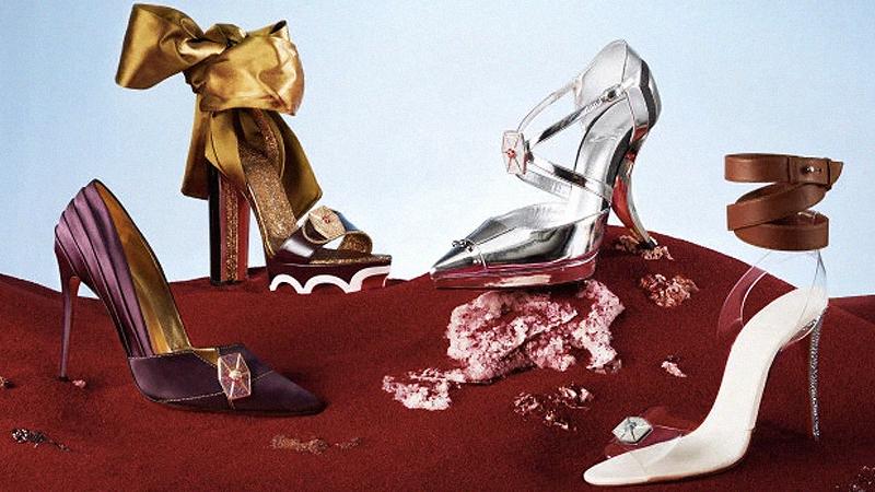 Những thiết kế giày cho nữ chiến binh trong Star Wars từ Christian Louboutin
