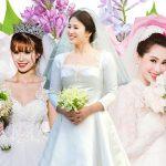 7 bộ váy cưới đình đám trong năm 2017 của sao Việt – Hàn và mỹ nhân Hollywood