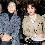 Song Joong Ki bảnh bao, Song Hye Kyo đẹp không tì vết tại show diễn của Dior