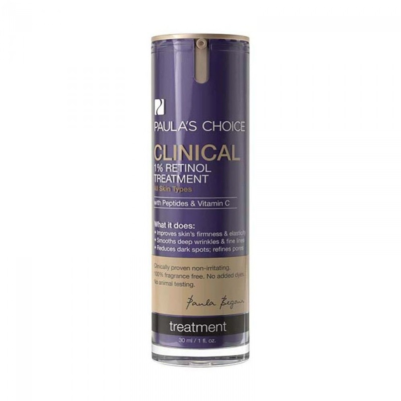 Paula's Choice - Clinical 1% Retinol Treatment :Tinh chất phục hồi da đa chức năng 1% Retinol. Giá: 340.000VND