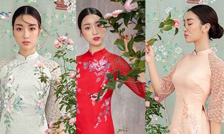 """Hoa hậu Đỗ Mỹ Linh: """"Tôi sẽ mặc áo dài cách tân dạo phố, thăm hỏi người thân, đi lễ chùa trong dịp Tết này"""""""
