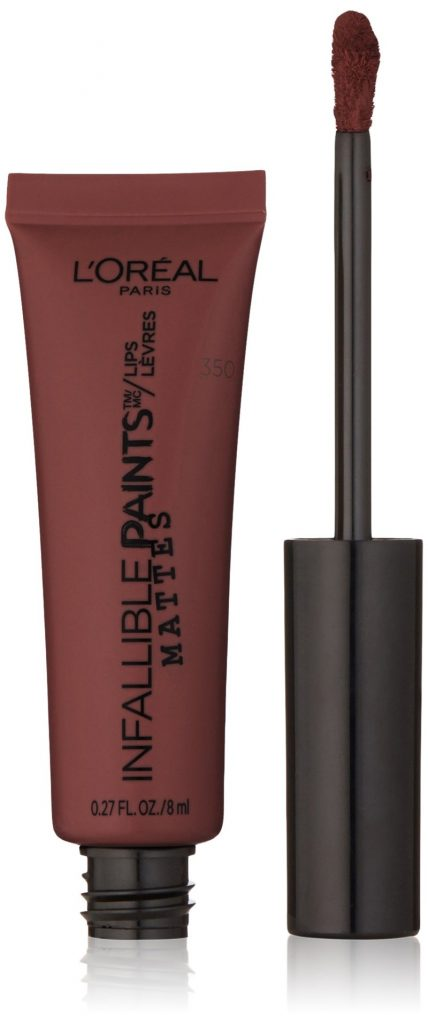 Son kem lì L'Oréal Paris Infallible PAINTS/LIPS Matte màu Cinna-Bomb: 258.000VND