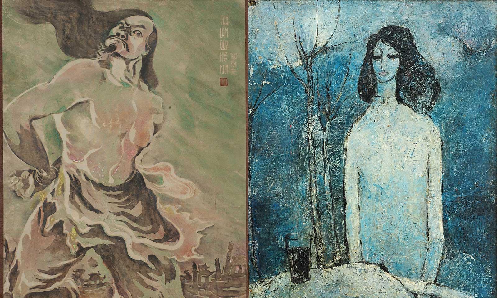 Cảm hứng phương Đông và phiên đấu giá đặc biệt cho người yêu thích hội họa miền Nam trước 1975