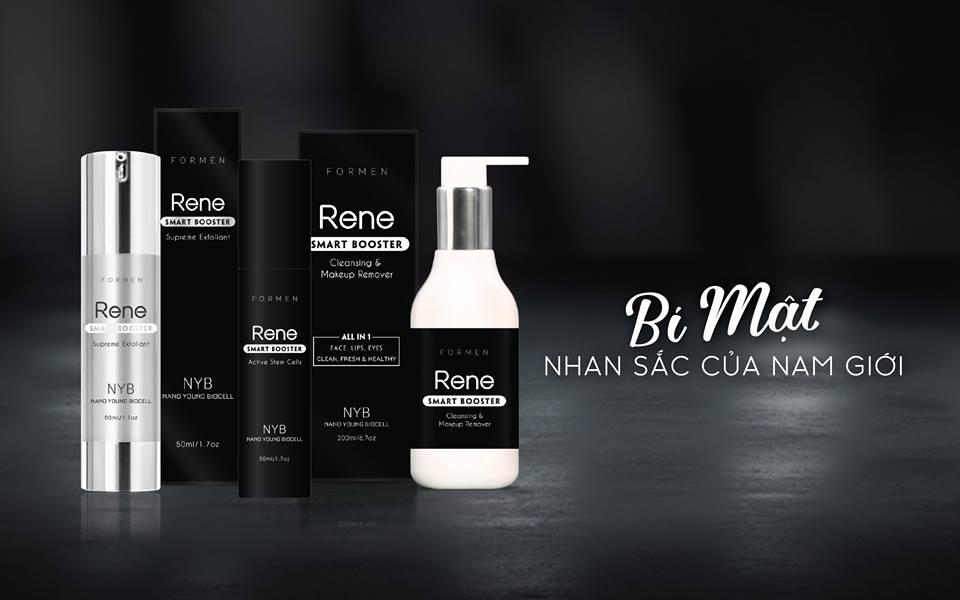 Làn da sáng khỏe với công nghệ Nano vi thủy trong loạt sản phẩm mới của Rene