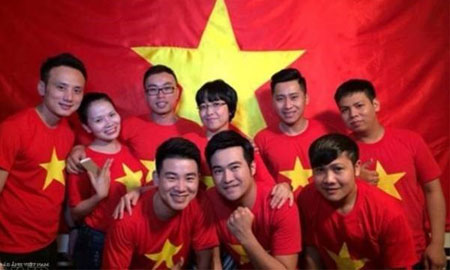 Nghệ sỹ tham gia MV ca nhạc cổ vũ đội tuyển U23
