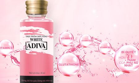 Tinh chất ADIVA WHITE – bí quyết giúp da trắng sáng, mịn màng an toàn từ phụ nữ Nhật