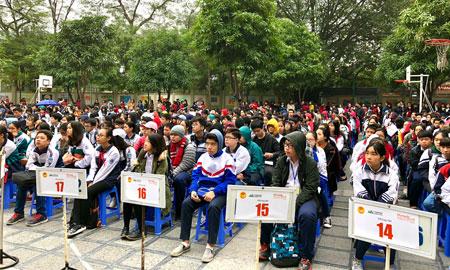 Hơn 1.200 thí sinh tham dự vòng sơ khảo Olympic Tiếng Anh Trung học cơ sở T.p Hà Nội