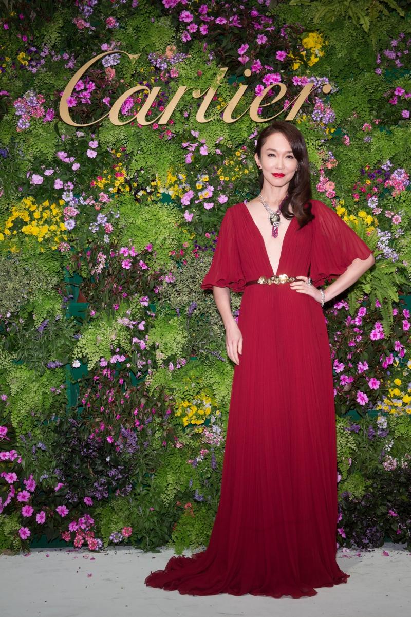 Diễn viên Phạm Văn Phương trong một sự kiện của Cartier.