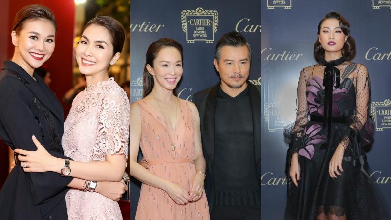 Thanh Hằng, Tăng Thanh Hà, Đàm Vĩnh Hưng gặp gỡ cặp đôi nổi tiếng Lý Minh Thuận và Phạm Văn Phương