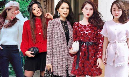Quý cô thời trang Việt khoe sắc ngọt ngào trong trang phục nữ tính