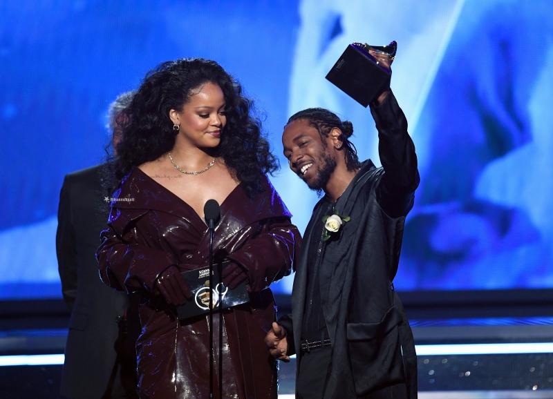 Rihanna và Kendrick nhận giải thưởng Song ca/Hợp ca xuất sắc nhất tại Grammy 2018.