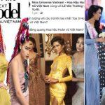 Từ cuộc thi Hoa hậu Việt Nam, Vietnam's Next top model đến Hoa hậu Hoàn vũ, thần may mắn đều ưa gọi tên người đứng giữa ?