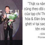 Những câu nói hài hước trong đêm trao giải Men Of The Year 2017
