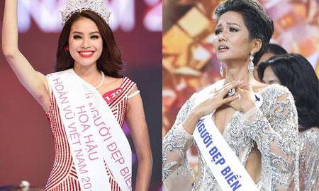 Sự trùng hợp kỳ lạ giữa Hoa hậu hoàn vũ Việt Nam H'Hen Niê và Phạm Hương