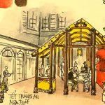 Phiên chợ Tết Hà Thành xưa được tái hiện lại trong khuôn viên khách sạn Metropole Hà Nội