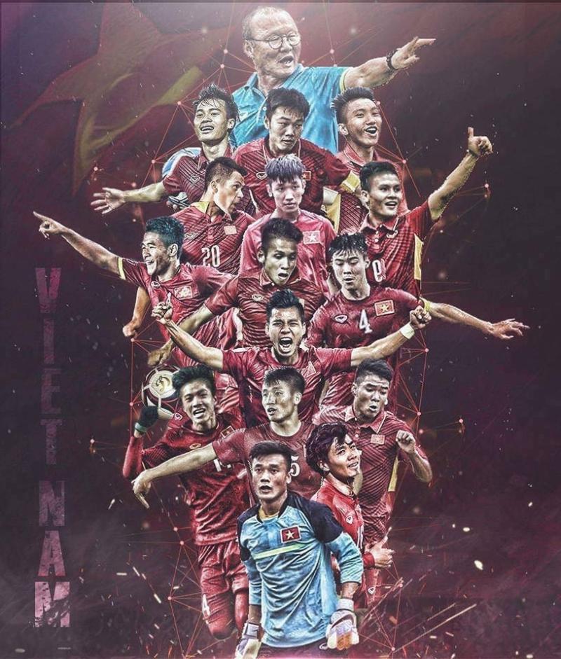 Một hình ảnh tuyệt đẹp về đội tuyển U23 Việt Nam cùng huấn luyện viên Park Hang Seo