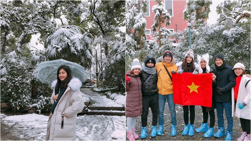 Theo chân Á hậu Thanh Tú đến Trung Quốc cổ vũ U23 (cập nhật liên tục)