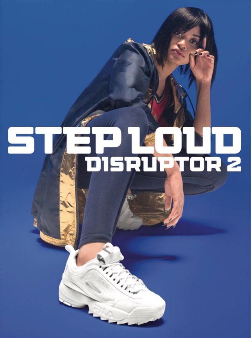 Thiết kế giày Disruptor 2 đặc biệt của Fila liên tục được sáng tạo với những thiết kế mới.