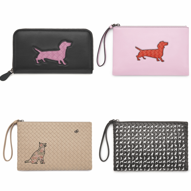 """Những chiếc ví dài hay ví cầm tay trong BST đặc biệt của Bottega Veneta chắc chắn sẽ khiến cho phái đẹp không """"kìm lòng"""" được."""