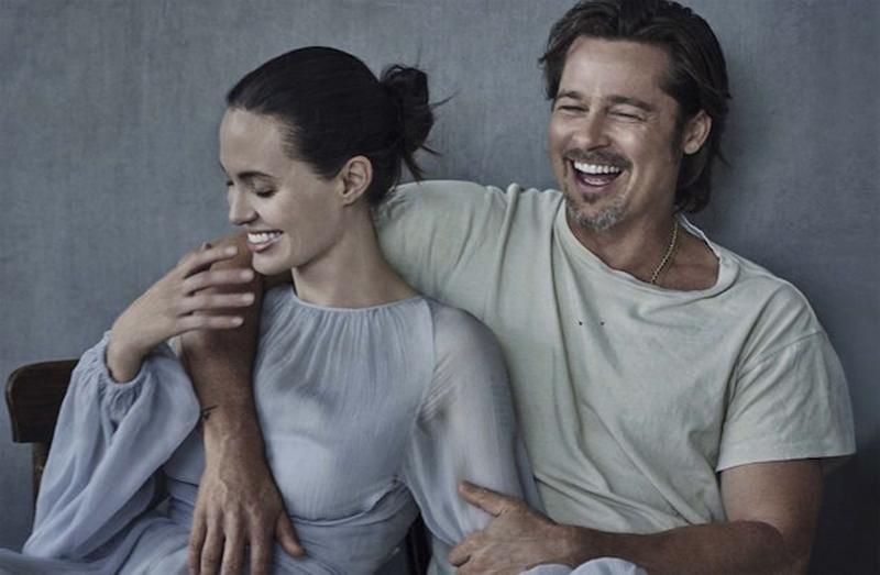 """Bén duyên từ phim trường """"Mr&Mrs Smith"""", cuộc tình trải qua nhiều thử thách của Angelina và Brad đã từng là ao ước của nhiều người."""