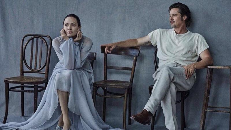 Brad Pitt giơ cờ trắng trước cuộc chiến với Angelina Jolie