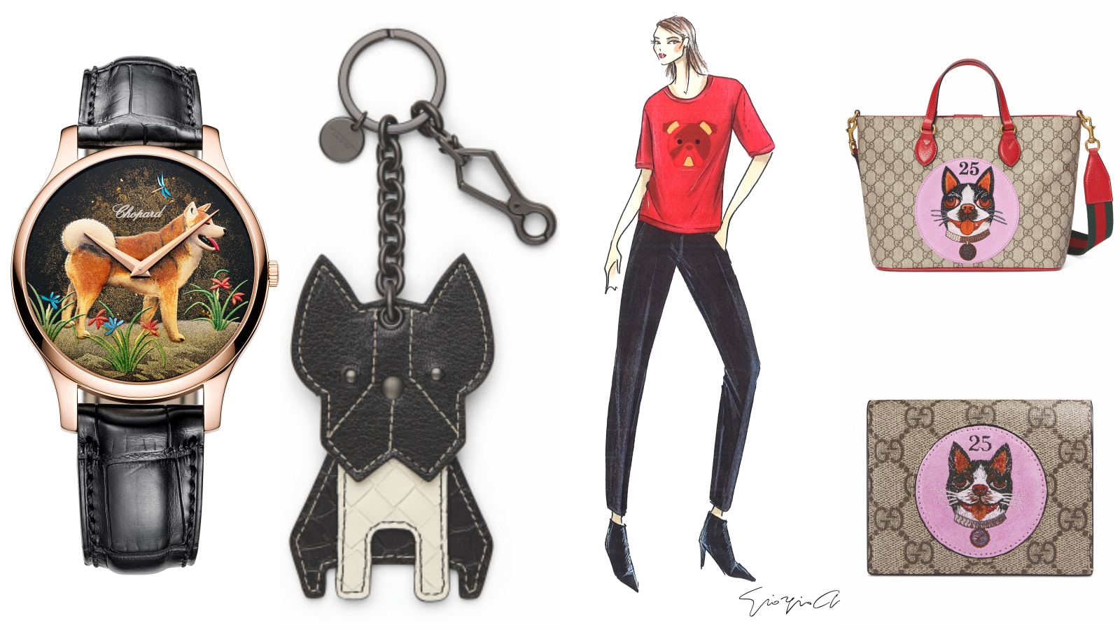 """Những thiết kế thời trang đặc sắc """"thửa"""" riêng cho năm Mậu Tuất"""