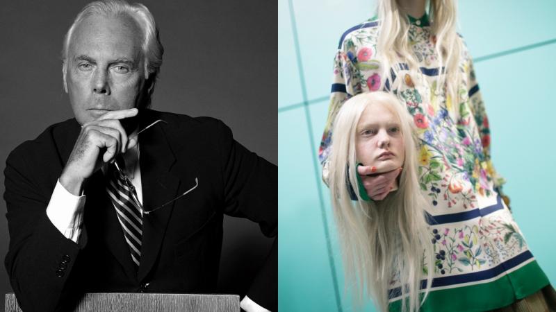 """NTK Giorgio Armani """"mát mẻ"""" nhà Gucci chiêu trò với hình ảnh người mẫu cầm những chiếc… đầu ra sàn diễn"""