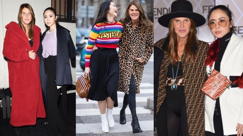 Điều gì khiến fashionista Việt đình đám Nga H. Nguyễn thân thiết với bà hoàng street style Anna Dello Russo đến vậy?
