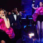 Rihanna đón tuổi 30 rạng ngời với thiết kế đầm phồng tuyệt đẹp của Saint Laurent