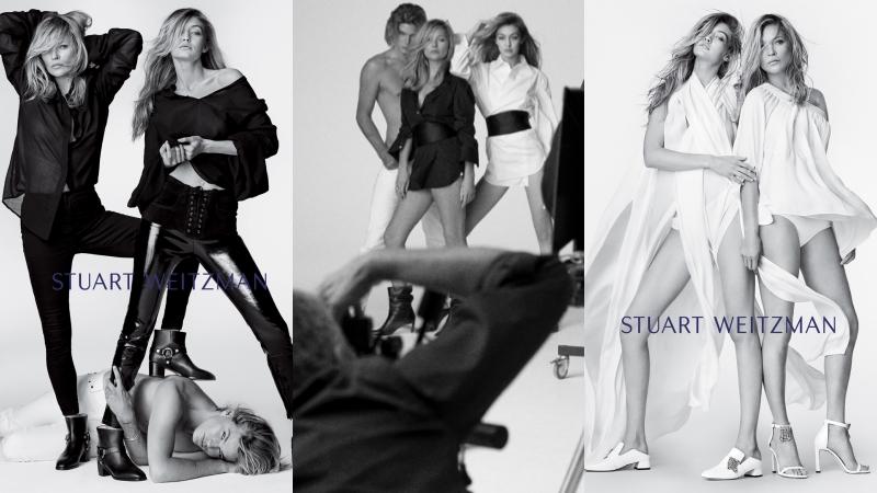 """Cách nhau gần 20 tuổi, Kate Moss và Gigi Hadid trông như """"hai chị em"""" trong chiến dịch quảng cáo mới"""