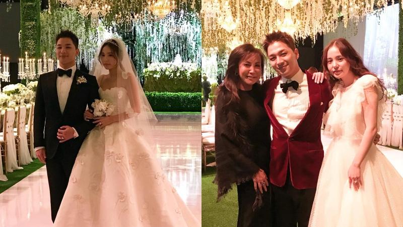 """Chú rể lịch lãm Taeyang hạnh phúc bên cô dâu Min Hyo Rin trong đám cưới theo kiểu """"Twilight"""""""