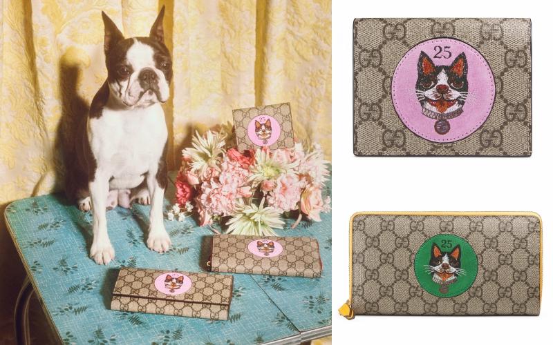 Không thể thiếu những lựa chọn ví nhỏ, ví dài trong BST đặc biệt ra mắt dịp Tết nguyên đán Mậu Tuất của Gucci.