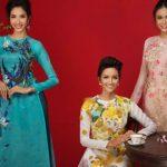 Hoa hậu Hoàn vũ H'hen Niê và hai Á hậu đẹp rực rỡ trong bộ ảnh Xuân 2018