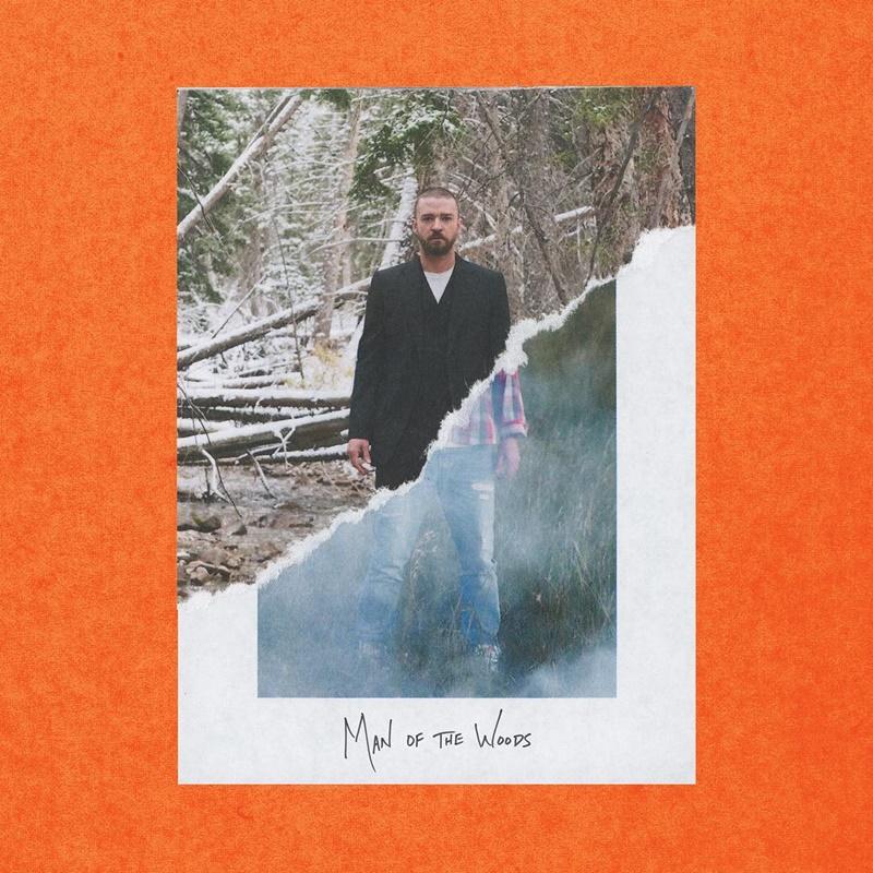 """Bìa album """"Man of the Woods"""" mới phát hành của Justin Timberlake hôm 2/2 vừa qua."""