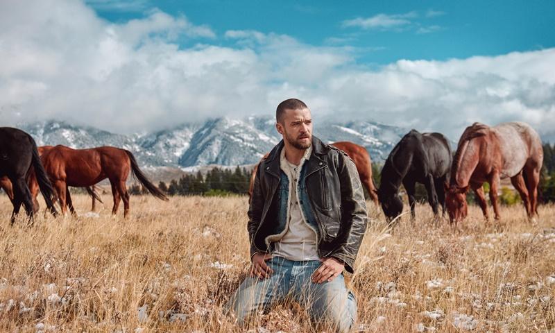 Vẻ đàn ông nam tính của Justin Timberlake được khai thác triệt để qua những hình ảnh trong album lần này.