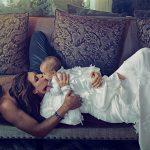 Lần đầu lộ diện con gái thứ ba của Kim Kardashian