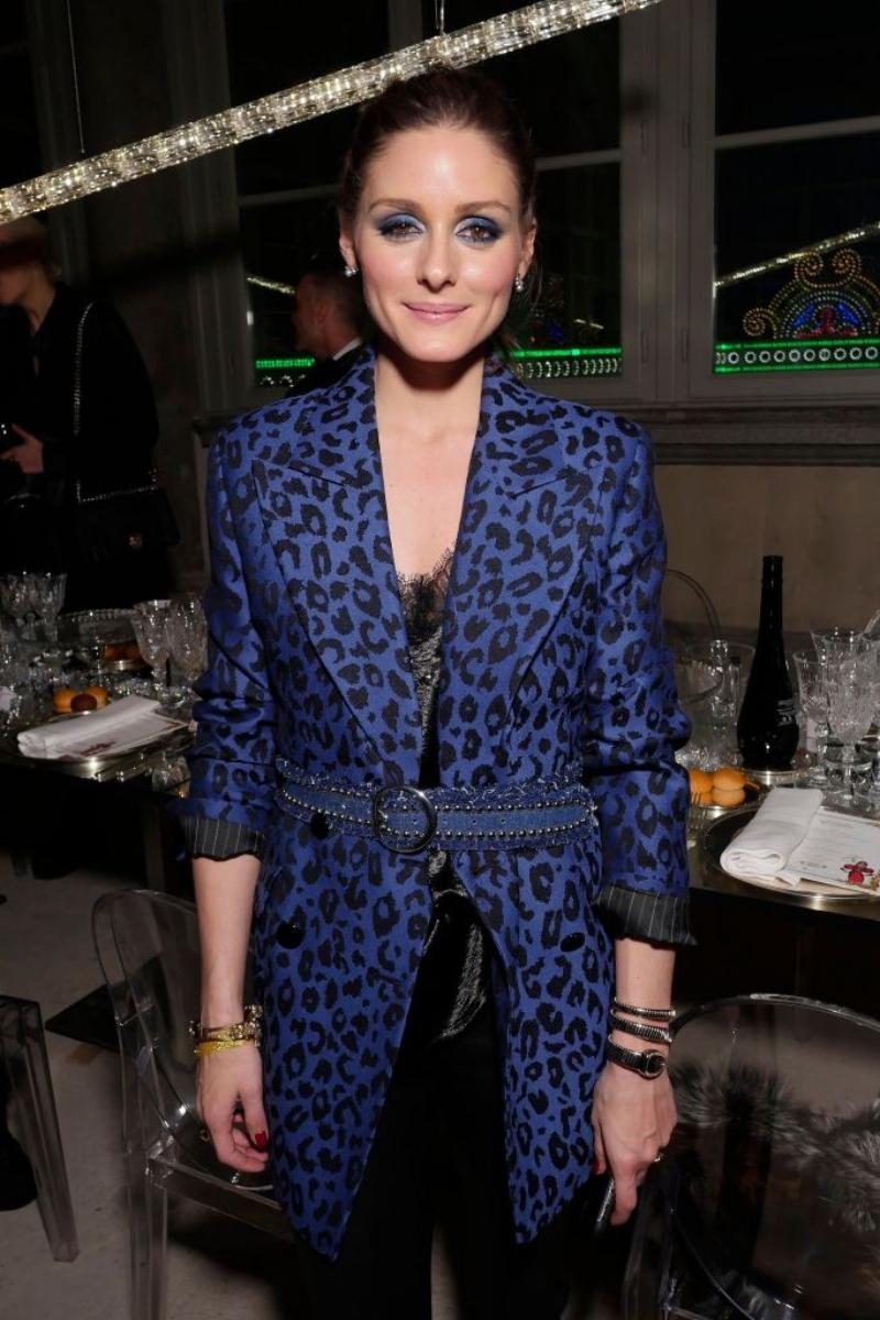 Olivia Palermo cũng có mặt trong buổi tiệc sôi động này.
