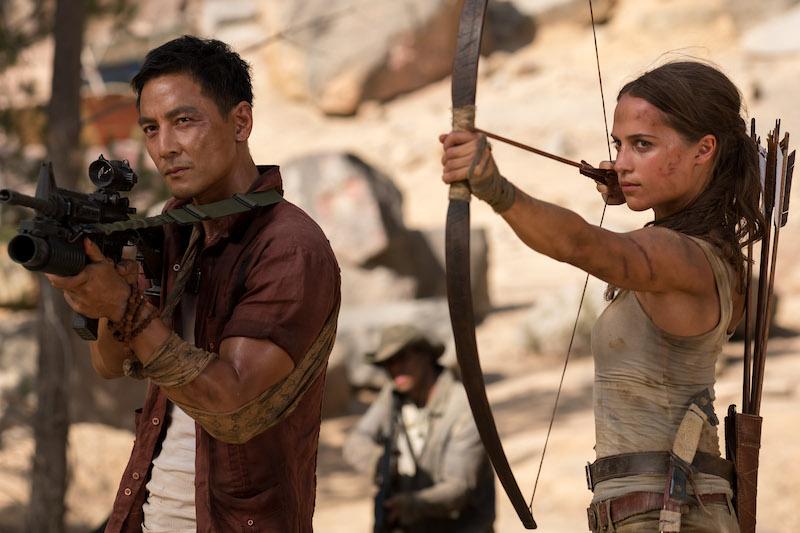Điểm mặt những ngôi sao xuất hiện trong Tomb Raider: Huyền Thoại Bắt Đầu