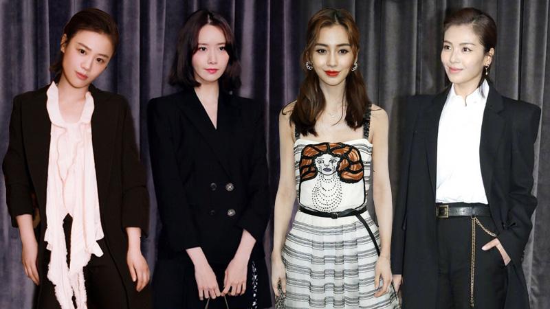 Yoona, Angelababy và dàn sao Châu Á nổi bật trên hàng ghế đầu tại Tuần lễ Thời trang Paris